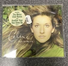 Celine Dion - That's The Way It Is UK CD Maxi Single