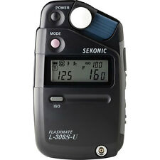 New Sekonic L-308S-U Flashmate Lightmeter And Exclusive 3-Year Warranty