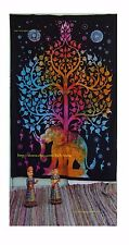 Twin Indian Hippie Decor Elephant Tapestry Wall Hanging Throw Bohemian Bedspread