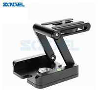 Aluminum Folding Quick Release Plate Stand Holder Tripod Flex Tilt & Ball Head