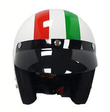 Viper RS-04 casco de cara abierta Moto Motocicleta Scooter Italia Bandera Italiana