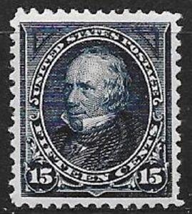 USA 15c Clay dark blue Scott 274 super nice mint stamp see scans