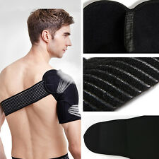 Magnetic Shoulder Support Strap Neoprene Brace Dislocation Injury Arthritis Pain