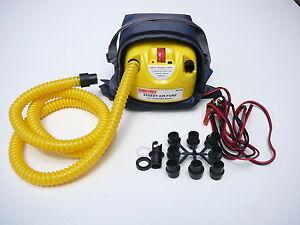 12V Electric Air pump. Inflatable/ kitesurfing/ SUP Compressor - Boat Inflator
