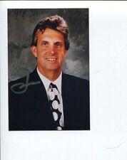 Larry Pleau New York Rangers St. Louis Blues Olympic HOF Signed Autograph Photo