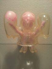 Secret Base Obake Ghost Clear w/ Pink Plush