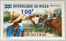 NIGER 1973 394 282 African Solidarity Drought Emergency ovp Dürre Solidarität **