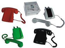 Retro Telefonstation Handys rot Telefon Handys Smartphones Telefonständer