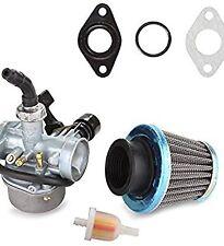 ATV Carburetor PZ19 with Fuel Filter and 35mm Air Filter for 50cc 70cc 80cc 90cc