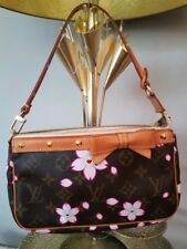 Louis Vuitton France Authentic Limited Edition Cherry Blossom Pochette Bag