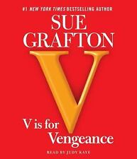 Kinsey Millhone Mystery: V Is for Vengeance by Sue Grafton (2011, CD, Abridged)