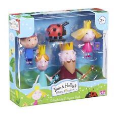 Ben & Holly Little Kingdom 5 figure pack King, Queen Thistle, Gaston