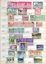 Briefmarkensammlung Österreich 1975 - 2002 Stempelsammlung gestempelt used