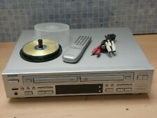 WELLTECH 20666 TWIN DECK CD RECORDER, CD REWRITER & CD PLAYER + DISCS & REMOTE