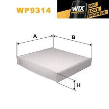 1x Wix Pollen Filter WP9314 - Eqv to Fram CF10202
