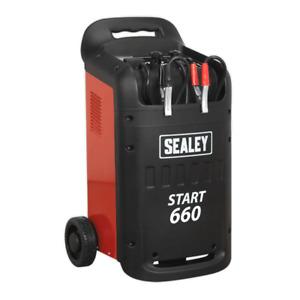 Sealey Start660 Starter/Charger 660/100A 12/24V 230V 32Amp Supply