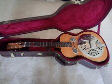 DOBRO Hound Dog Deluxe Resonator Guitar Flame maple.