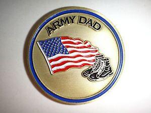 États-Unis Armée Papa Armée Fort ! 2-Side Challenge Pièce de Monnaie