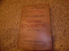 1929.Alphonse de Lamartine.Léo Larguier (envoi)