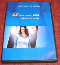 THE BIONIC WOMAN 2007, RARE DVD - Un-aired NBC Pilot, Michelle Ryan, Mae Whitman