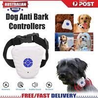 Anti Bark Dog Training Collar Sound & Vibration Stop Barking NO-Shock NO Pain OZ