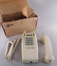 Wall Phone - Touch-Tone, Ivory - circa 1970's ~ Western Electric telephone