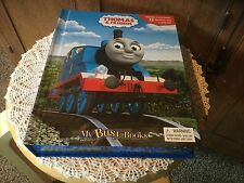 Pre Owned Thomas & Friends My Busy Book.  Storybook, 12 Figurines, Playmat.