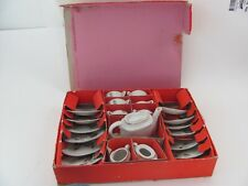 Vintage Japan Childrens Toy Ceramic Tea set 21 piece in original box