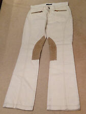 RALPH LAUREN POLO Riding Denim Jeans Trousers Pants Jodphurs Equestrian 29 BNWT