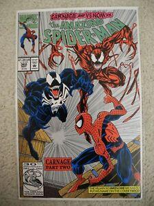 Amazing Spider-Man #362 2nd App Carnage Venom 2nd Printing NM-  Marvel 1991