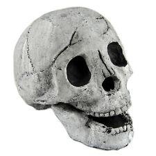 Myard Fireproof Fireplace Fire Skull Log for Campfire Halloween Decor Grill