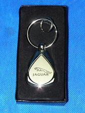 Original Jaguar Dealer Key Chain Ring High Quality w/ Roadside Asst. 800.4Jaguar