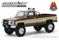 1982 GMC K-2500 Scale 1:64 by Greenlight The Fall Guy TV Series