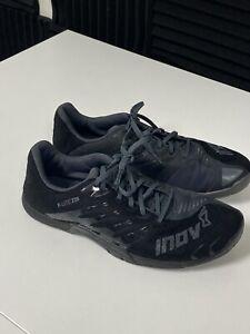 Inov8 F-Lite 235 v1 Mens Black Gray Cross Training Shoe Size 10.5