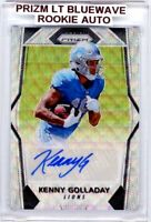 KENNY GOLLADAY 2017 Panini Prizm Blue Wave Refractor RC Auto Autograph 065/149