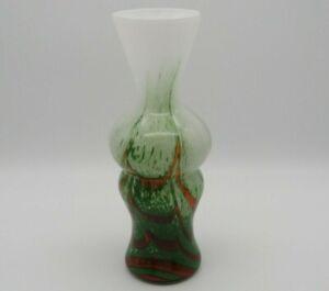Murano Glas Vase, Carlo Moretti, Opalglas, 1970er Jahre