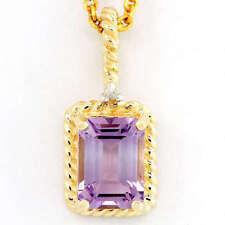 Beauty Not Enhanced Amethyst Fine Necklaces & Pendants