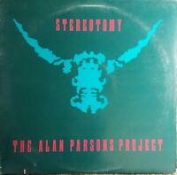 Alan Parsons Project Stereotomy LP Arista AL9-8384