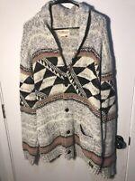 Men's Ralph Lauren Denim & And Supply Southwestern Knit Cardigan Sweater XXL 2XL