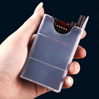 Zigaretten Box Transparent Cigarette Box Holder Zigarettenetui 1PC