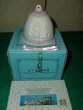 Vintage Lladro Christmas Bell 1987