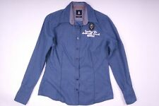 Gaastra Hemd Bluse Blau Damen Größe M