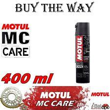 MC CARE C2 CHAIN LUBE ROAD 400ml - LUBRIFICANTE CATENE MOTO E KART MOTUL 102981