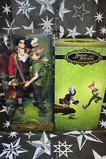 Disney Fairytale Collection Peter Pan And Captain Hook Limited Edition Dolls