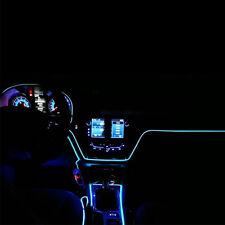 EL-Draht LED Kaltes Licht Neonlicht Helles Streifen Lampen Auto Innendekor 2M