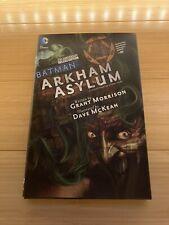 Batman: Arkham Asylum 25th Anniv Deluxe Hc Grant Morrison Dave McKean