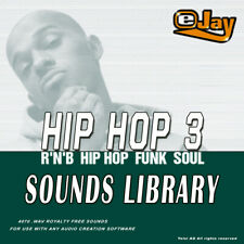 🥇eJay Hip Hop 3 Sounds Library, WAV samples and loops, voice, key  hiphop,music