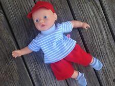 Kleidung für Puppen little Baby born Gr. 32 cm BOY Junge Muffin Aquini brother