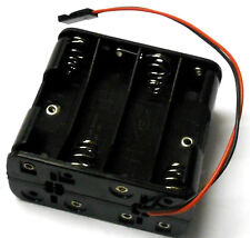 C1208-2 RC Battery Holder Case Box 8 AAA compatibili Pack JR 3 Pin
