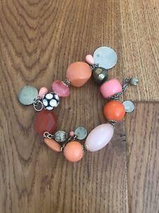 Boho Chunky Charm Bracelet By Mikey